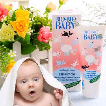 Kem Làm Dịu, Thêm Ẩm Bio Baby - Nhập Khẩu Italy
