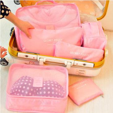Bộ 6 Túi Du Lịch Chống Thấm Bag In Bag Dhome