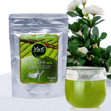Bột Trà Xanh Cao Cấp & Nguyên Chất 100% Viet Green Tea 100Gr