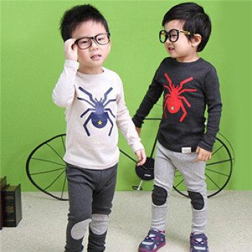 Bộ Đồ Hình Nhện Cực Cute Thương Hiệu Cirino Cho Bé Từ 2-8 Tuổi