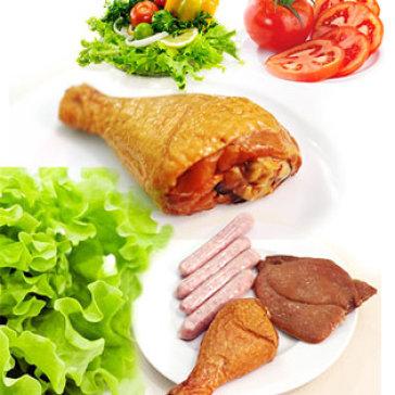 Combo Xúc Xích ARABIKI + Thịt Heo Nướng Hun Khói + Đùi Gà Hun Khói Cao Cấp Của Nhãn Hiệu CHEF MEAT