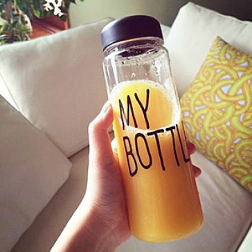 """Bình Nước + Túi """"My Bottle"""" Phong Cách Xứ Hàn"""