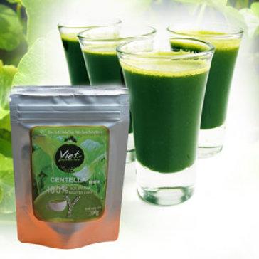Bột Rau Má 100G - Sấy Tiệt Trùng - Nguyên Chất 100% Viet Green Tea