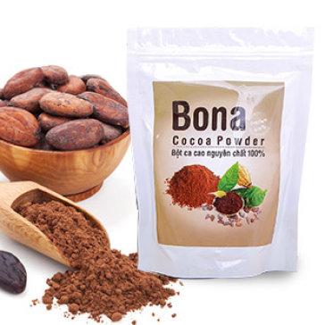 Bột Cacao Nguyên Chất Uống Liền - Bona Coffee - 200Gr