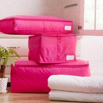 Túi Đựng Chăn Màn, Quần Áo Du Lịch Chống Nước Cực Lớn Size 80X45X14cm