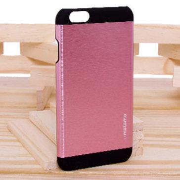 Ốp Lưng Iphone 6 Nhôm Motomo Ino Metal Bảo Vệ Camera ( Hồng,Đen, Xám, Đỏ, Bạc)