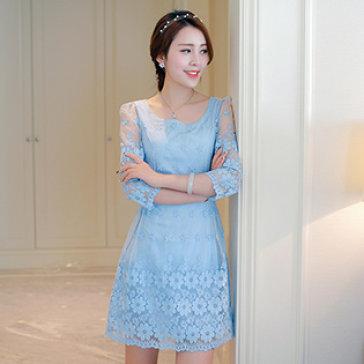 Đầm Ren Hoa Mai