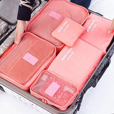 Bộ 6 Túi Du Lịch Bag In Bag Giúp Gọn Hành Lý