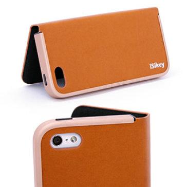 Bao Da Iphone 5/5s - Tự Động Đóng Nắp Bảo Vệ Khi Rơi - Da Bò 100%