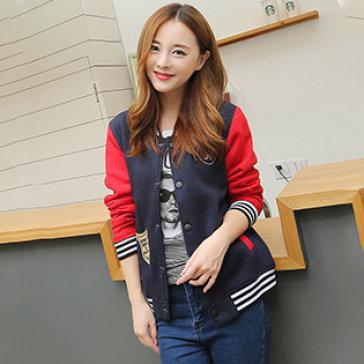 Áo Khoác Bóng Chày Style Cá Tính