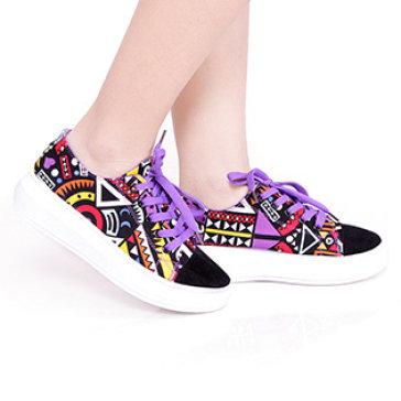 Giày Bata Nữ Phong Cách Maori