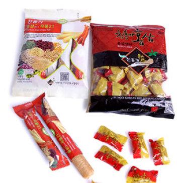 Combo 2 Gói Kẹo Candy Và Kẹo Roll (Bánh Gạo) Hàn Quốc