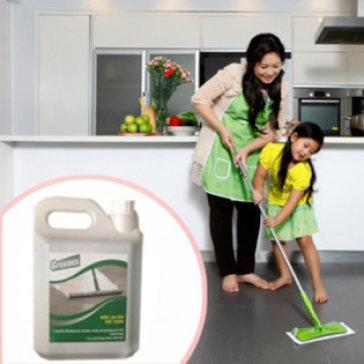 Nước Lau Sàn 5L Green Cross Diệt Sạch 99.9 % Vi Khuẩn