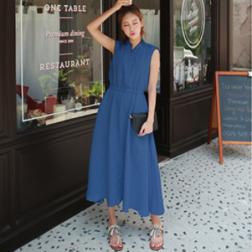 Đầm Maxi Denim Summer