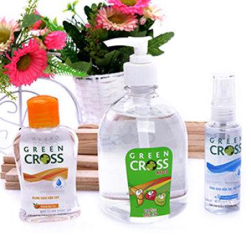 CB 3 Chai Rửa Tay Khô (Gia đình + Du lịch) - T. H Green Cross VN