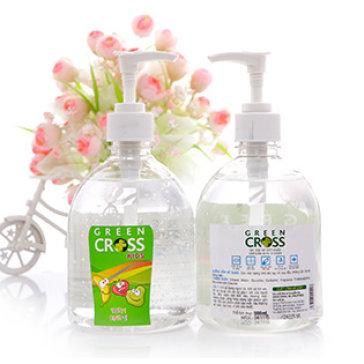 Combo 2 Chai Gel Rửa Tay Khô Green Cross Diệt Sạch 99.9 % Vi Khuẩn (500ml)