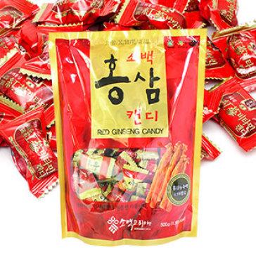 Kẹo Hồng Sâm Sobaek Korea 500gr - Nhập Khẩu Hàn Quốc