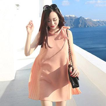 Đầm Oversize Xếp Ly Nữ Tính