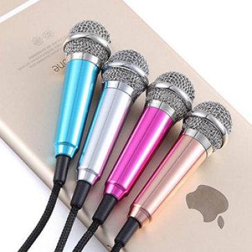 Micro Mini Hát Karaoke Cho Điện Thoại