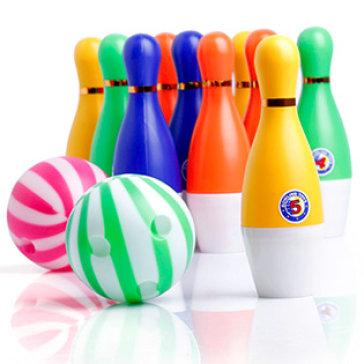 Bộ Trò Chơi Bowling 10 Chai + 02 Bóng Cho Bé
