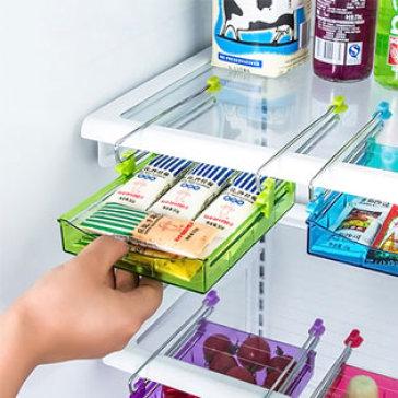 Khay Nhựa Để Tủ Lạnh Tiện Dụng