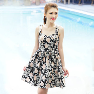 Đầm Hoa Juleta Cao Cấp