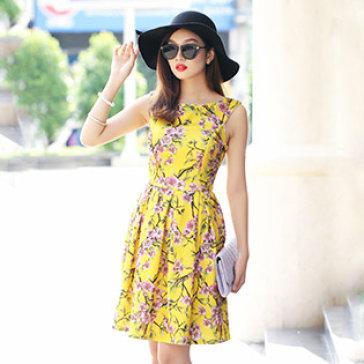 Đầm Hoa Juliet Cao Cấp