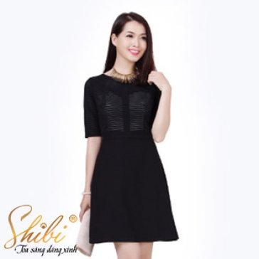 Đầm Công Sở Cao Cấp SB051 Shibi