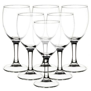 Bộ 6 Ly Rượu Vang Thủy Tinh Luminarc Elegance 12055 (190ML)