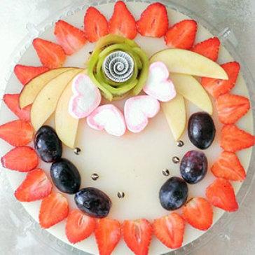 Bánh Sinh Nhật Rau Câu Trái Cây Đặc Biệt Tại Love Cake