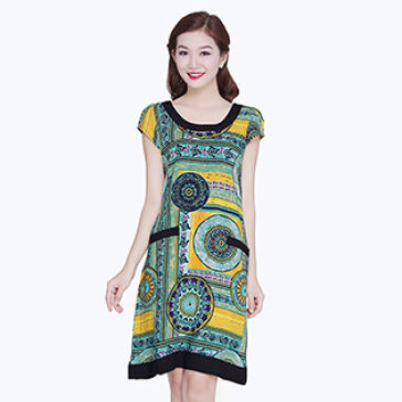 Đầm Over Size Cách Điệu